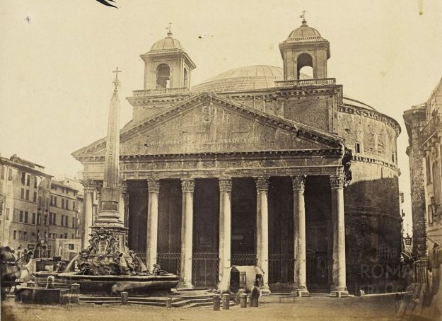 The Pantheon in 1860
