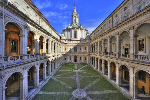 Borromini church in Rome opens for one day only
