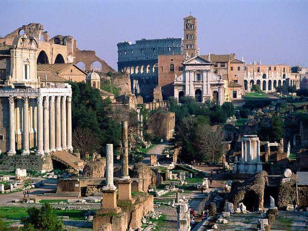 """Rome plans """"archaeological Central Park"""""""