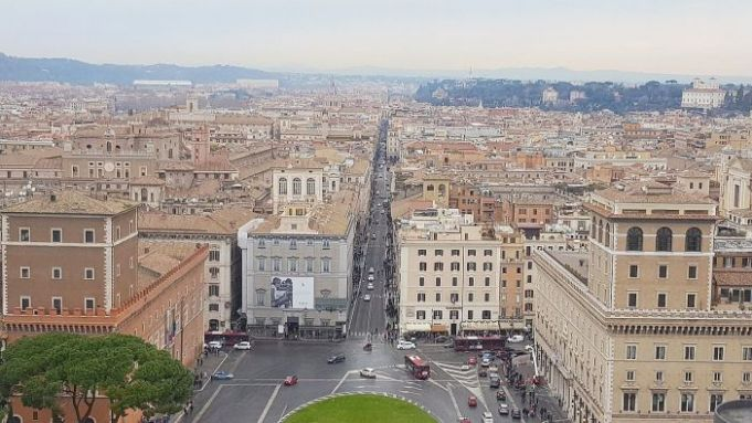 The Vittoriano Terrace Rome S Scrapbook Wanted In Rome