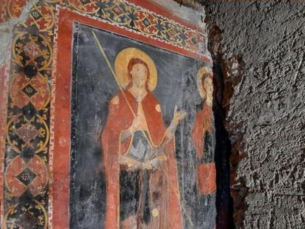 Rome discovers Mediaeval fresco hidden for 900 years