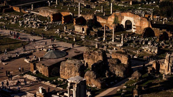 Rome unites Roman Forum with Imperial Fora