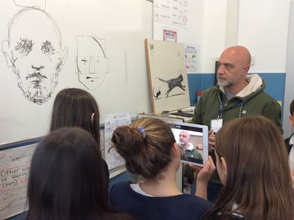 Wanted in Rome Junior: Maupal comes to Rome International School