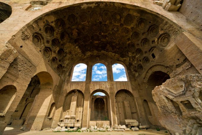 Where have ancient Rome's buildings gone?