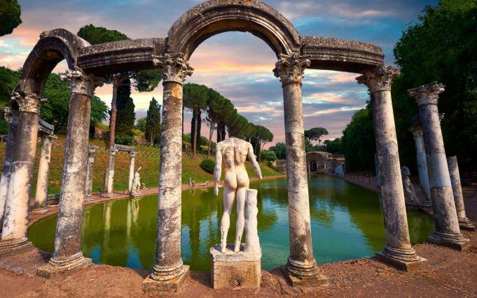 Villa d'Este and Villa Adriana in Tivoli free on first Monday of month