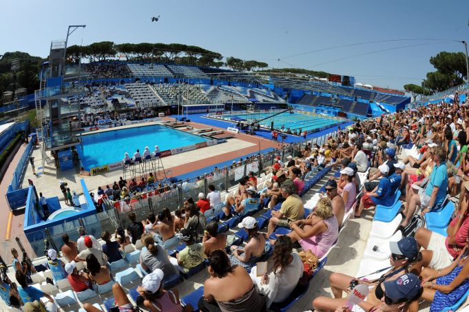 Rome to bid for 2022 European Aquatics Championships