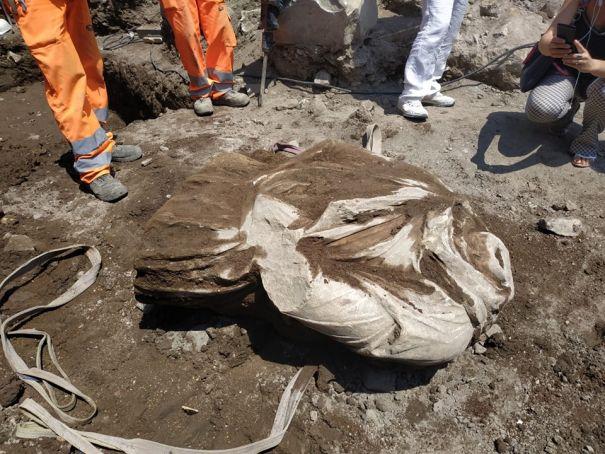 Roman Forum find identified as Dacian warrior