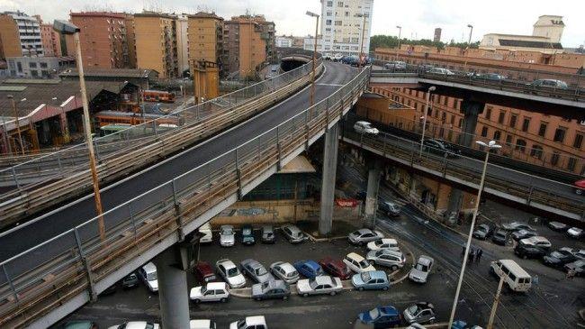 Rome to demolish Tangenziale Est flyover