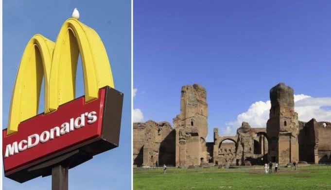 Ministry blocks plan for McDonald's at Caracalla Baths