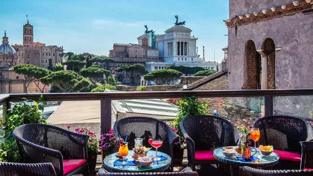 Best Rooftop Terraces in Rome