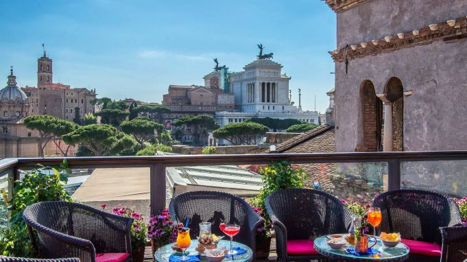 Best Rooftop Terraces In Rome Wanted In Rome