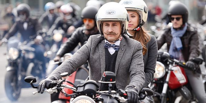 Distinguished Gentleman's Ride in Rome