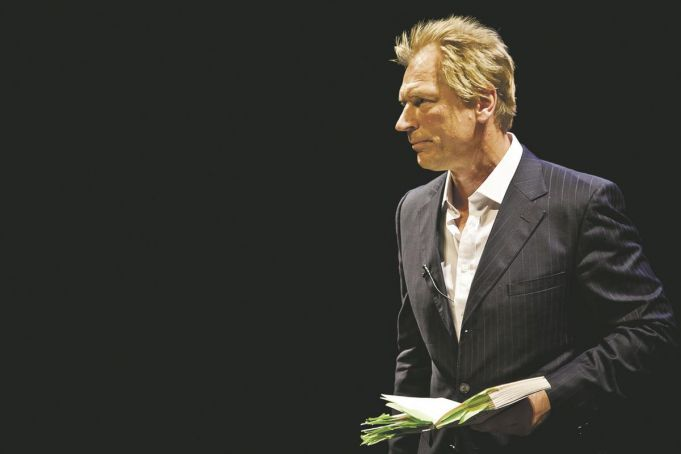Actor Julian Sands reads poetry of Keats, Shelley and Byron in Rome