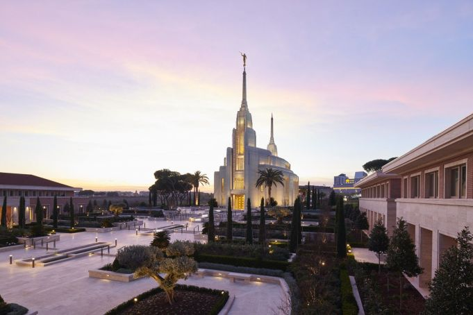 Rome hosts Europe's largest Mormon temple