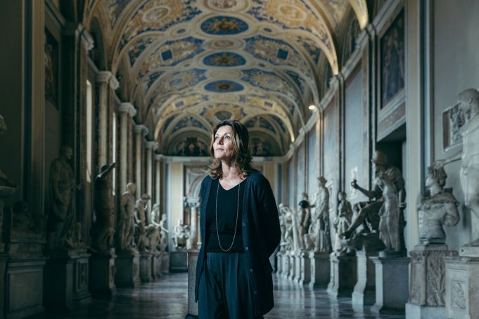 Vatican Museums director Barbara Jatta at American Academy in Rome