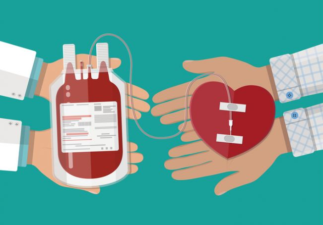 Rome's international community donates blood
