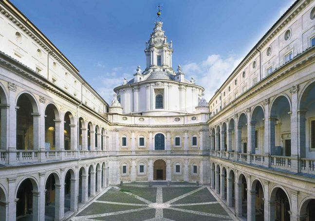 Borromini guide to Rome