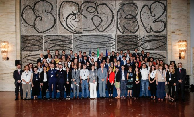 Fulbright alumni gather at historic event in Rome