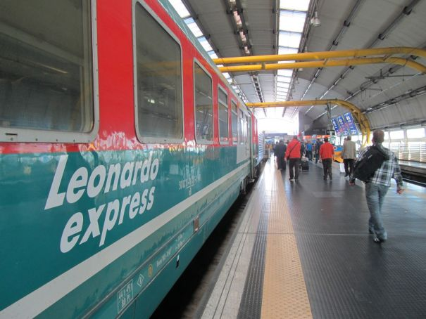 No trains to Rome's Fiumicino airport this weekend