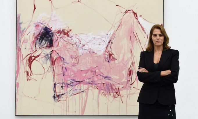 Tracey Emin exhibition in Rome