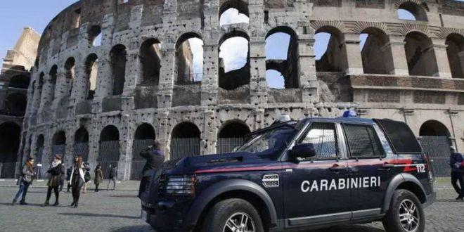 Tourist carves name into Colosseum
