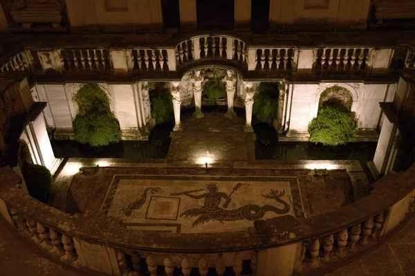 Saturday night show at Rome's Etruscan Museum in Villa Giulia