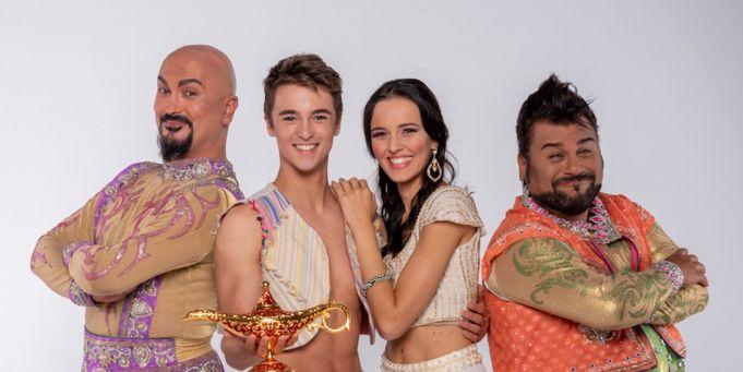 Aladdin musical in Rome