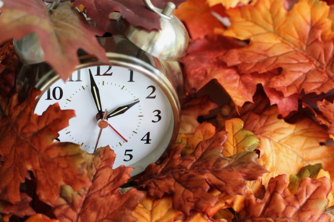Clocks go back on 27 October