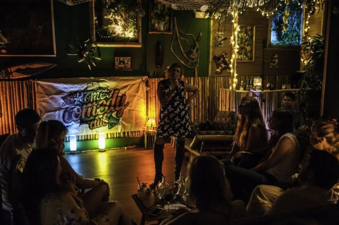 Halloween laughs with Rome's Comedy Club