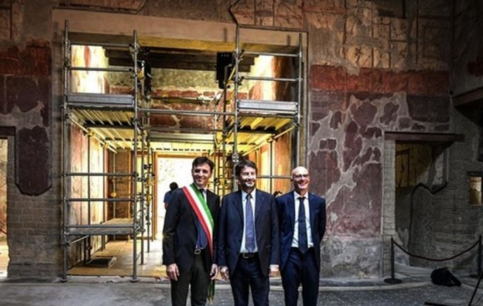 Roman house at Herculaneum reopens after 35 years