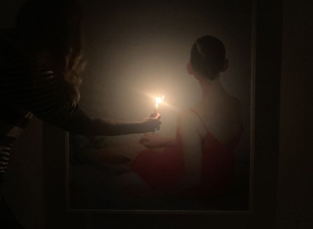 Rome Art Week: Suzanne Rubin portraits by candlelight