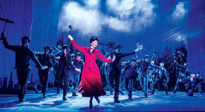 Mary Poppins il Musical in Rome theatre