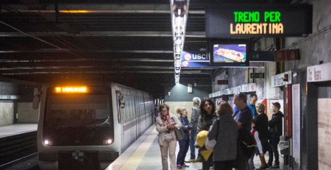 Rome metro to get 20 new trains