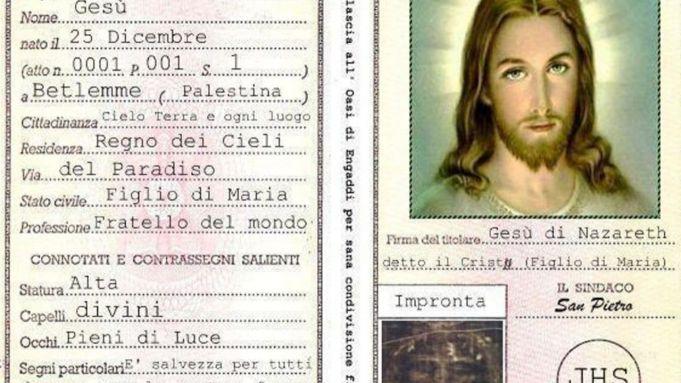 Radio Maria creates identity card for Jesus