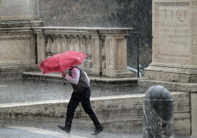 Rome weather warning for 2 October