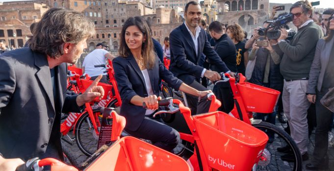 Uber launches Jump bike sharing in Rome