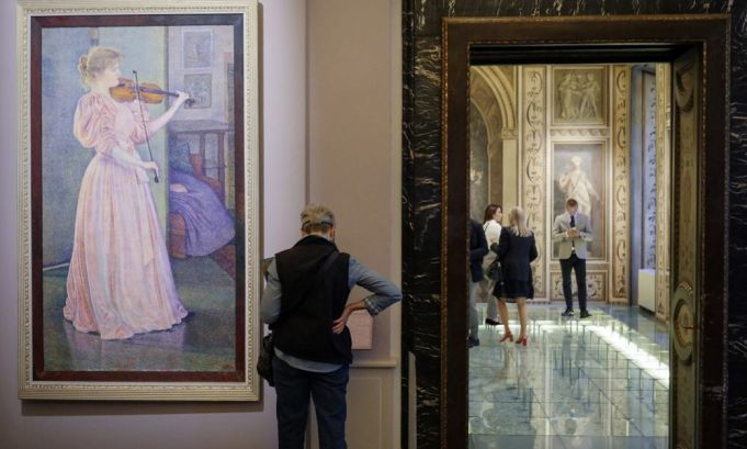 Secret Impressionists exhibition in Rome