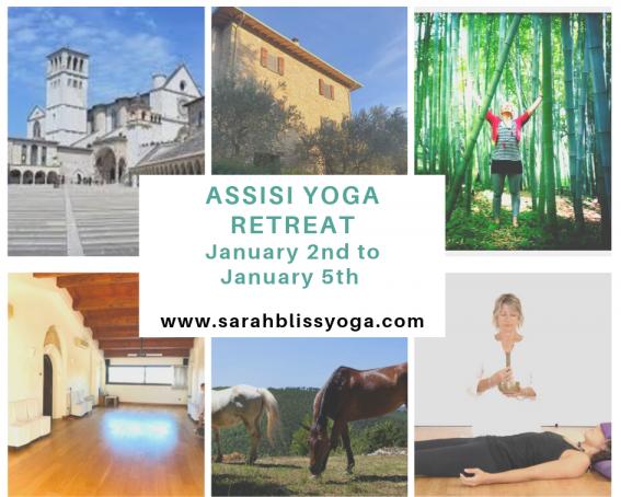 Assisi New Year Yoga retreat