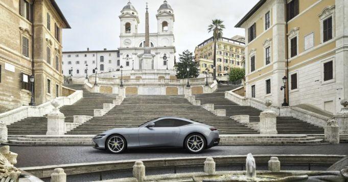 """Welcome the new Ferrari named  """"Roma"""""""