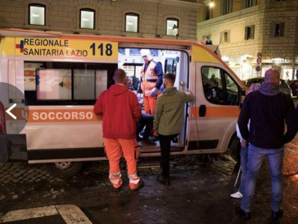 Celtic fans stabbed in Rome