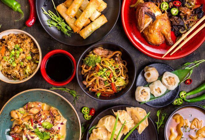 Huobi: Asian food emporium in Rome