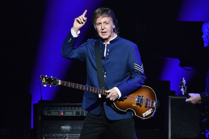 Paul McCartney to perform in Naples after 29 years