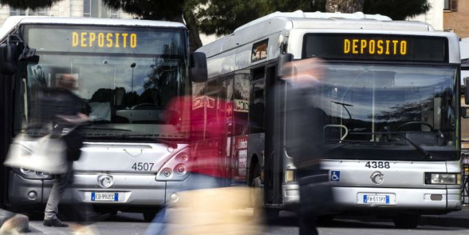 Rome bus strike on 18 November