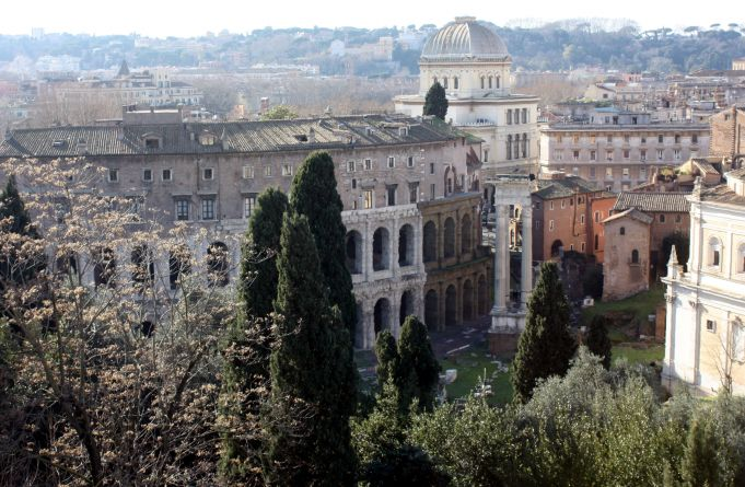 Rome reclaims slopes of Capitoline Hill
