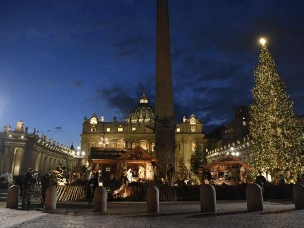 Christmas in St Peter's Square