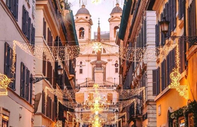 Christmas Shopping In Rome Wanted In Rome