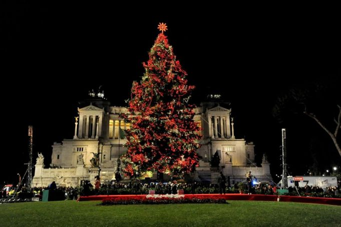 Rome's Christmas tree to be lit up on 8 December