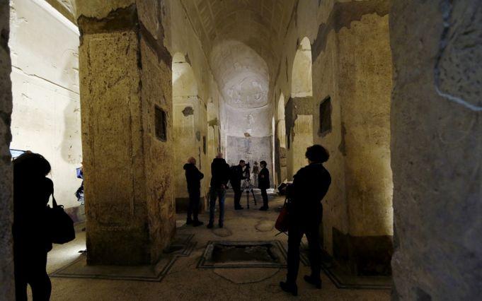 Rome restores underground Basilica of Mysteries