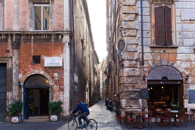 Rome has one of the world's most beautiful streets