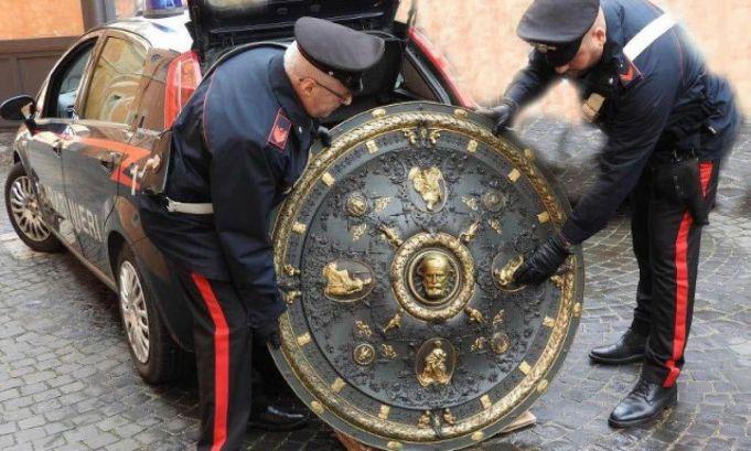 Stolen Garibaldi Shield found in home of Rome architect